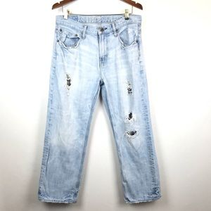American Eagle Outfitters Jeans - ❤️ American Eagle Low Loose Distressed Jeans